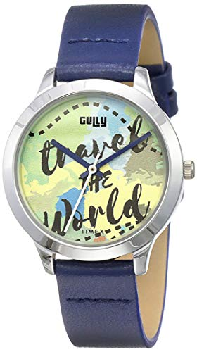 Gully by Timex Globetrotter Analog Brown Dial Women's Watch-TW000T617