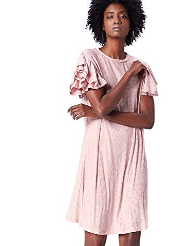 FIND 70314 vestiti donna casual, Rosa (Pale Pink), 46 (Taglia Produttore: Large)