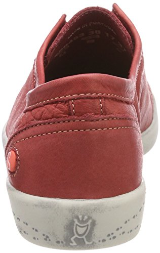 Softinos Ini453sof Washed, Mocassins Femme Rot (Red)
