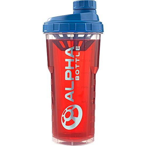 Alpha Designs, Bottiglie E Shaker Per Frullati Di Proteine, Blu, 750Ml