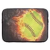 HGQHXY.U Borsa Protettiva per Laptop in Pelle di Neoprene Impermeabile per Immersioni con Palla da Baseball Vintage Borsa per Laptop, iPad