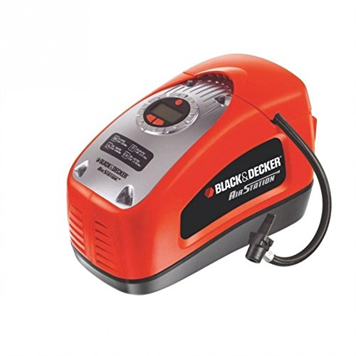 Compresor de ruedas para coche Black and Decker ASI300-QS