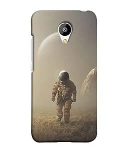 PrintVisa Designer Back Case Cover for Meizu M3 (Grass Commander Captain Discovery Abstract Illustration)
