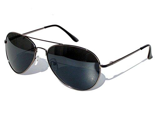 Tedd Haze Federscharnier-Pilotenbrille mit Brillen (Hip Sonnenbrille Hop)