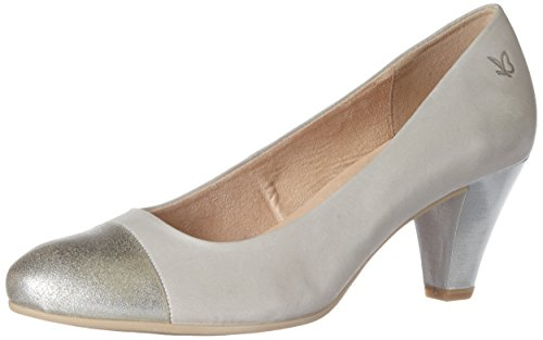 Caprice Damen 22409 Pumps, Grau (Grey Nu.Comb), 40.5 EU(7 UK)