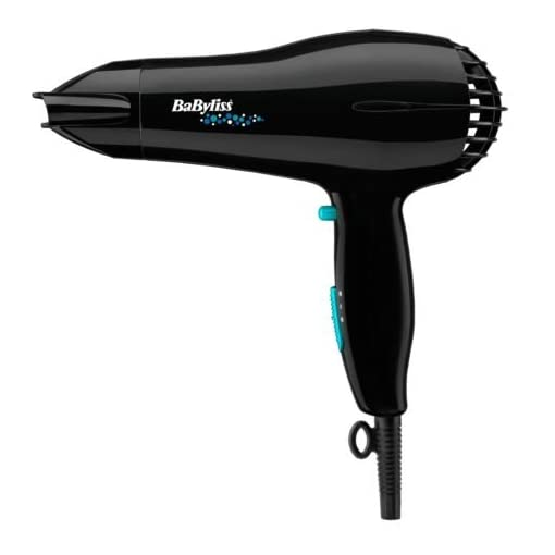 - 41moHI 2B3F3L - Brand New Essentials by BaByliss Turbo 2000W Hair Dryer