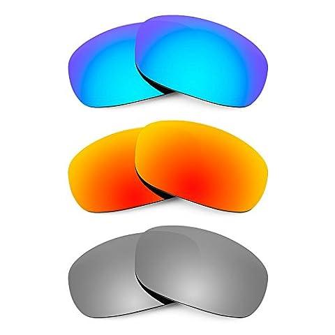 Revant Replacement Lenses for Maui Jim Stingray MJ103 3 Pair