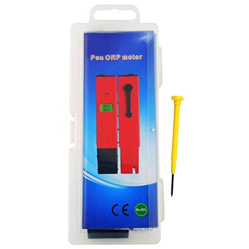 goosoo 1999MV ~ + 1999MV millivolts, Stiftform Digital Redox-ORP Wasser Meter Tester mit Hintergrundbeleuchtung LCD Pool Aquarium Hydrokultur Spas Wasser System Color 1 (Wasserqualität-system)
