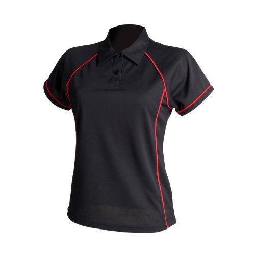 Finden & Polo canalisations de Hales femmes Noir / Rouge