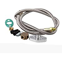 BEESCLOVER Turbo - Cable de alimentación de Aceite para turbocompresor Turbo T3