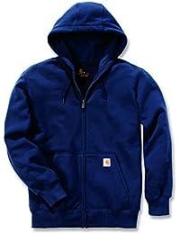 Carhartt 100614Paxton Sweat-shirt épais et zippé à capuche Veste de travail à capuche