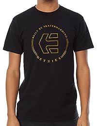 Tee shirt Etnies Icon Ringer Noir