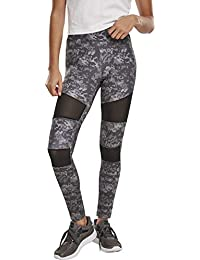 Urban Classics Ladies Camo Tech Mesh Leggings Mujer