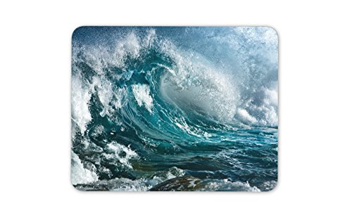 Kühle Welle Barrel Mauspad Pad - Surf Surfer Surfen Meer Geschenk PC Computer # 8311