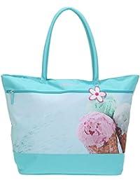 FABRIZIO XL Shopper Tasche XL SPORT SHOPPER Handtasche +Nagelset
