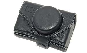 Étui look rétro noir mat Delamax pour Sigma DP1/DP2
