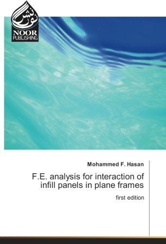 F.E. analysis for interaction of infill panels in plane frames: first edition - Infill-panel