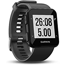 Garmin Forerunner 30 GPS-Laufuhr - Herzfrequenzmessung am Handgelenk, Smart Notifications, Connected Features, Lauffunktionen