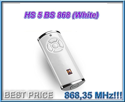 Télécommande HÖRMANN HS5-868-BS WHITE , 868,35 Mhz