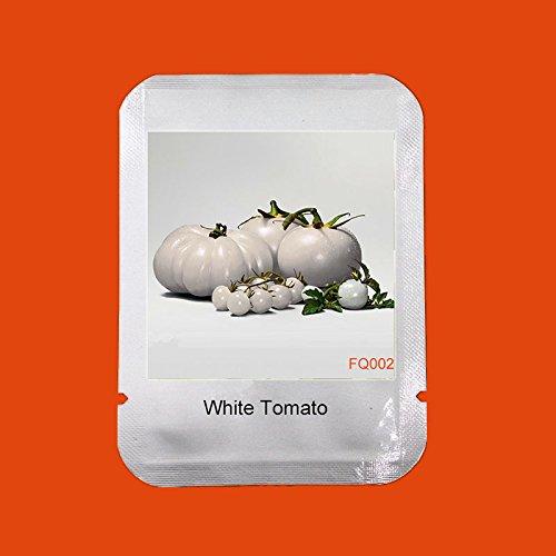 Seltene weiße Tomatensamen Sehr Schmackhafte Nutritive Heath Gemüse Samen 100 Stück Fleischtomate Samen, # FQ002