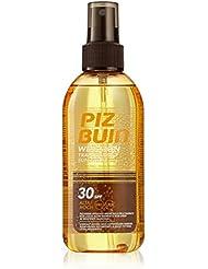 PIZ BUIN Wet Skin Spray LSF 30 / Wasserfestes, transparentes Sonnenschutz Spray - Auftrag auf nasser und trockener Haut / Sonnenschutz vor UVA & UVB Strahlen / 150ml
