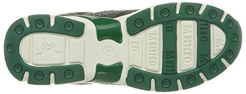 Mustang 1208302, Sneakers Basses femme Gris (273 Graphite/Vert)