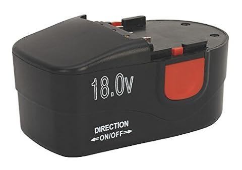 Sealey CPG18VBP Cordless Power Tool Battery 18V 1.7Ah Ni-MH for CPG18V