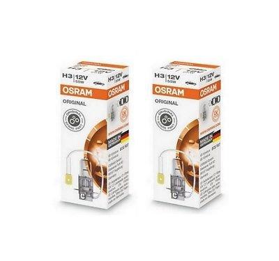 2x OSRAM 64151 H3 12V 55W PK22s Halogen Scheinwerfer gebraucht kaufen  Wird an jeden Ort in Deutschland