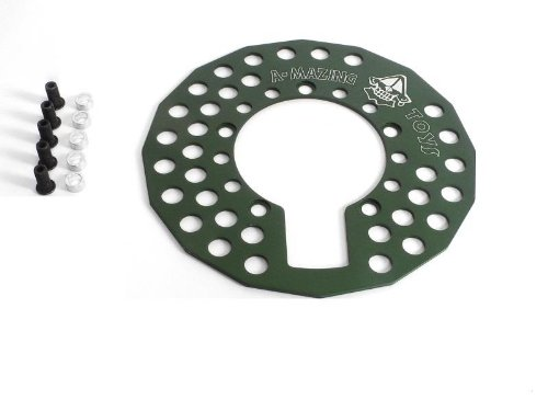 Kettenschutzring Kettenblattschutz Bashguard 110mm Lochkreis 5 Arm 46-48 Zähne