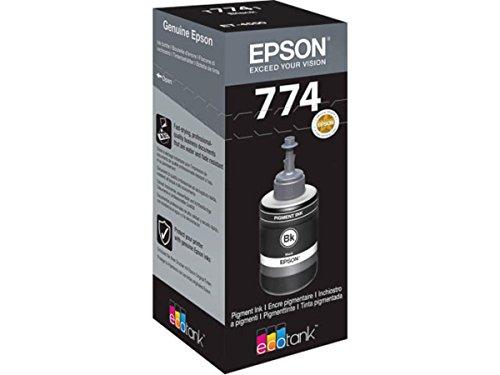 Preisvergleich Produktbild Epson original - Epson EcoTank ET-4550 (T7741 / C13T774140) - Tintenpatrone schwarz - 6.000 Seiten - 140ml
