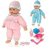 Molly Dolly Sweet klingt Lil 'Baby sprechende Mädchen Puppe & Zubehör - Geeignet für Alter 2 Jahre +