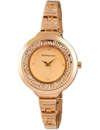 Giordano Analog Gold Dial Women's Watch - C2043-33