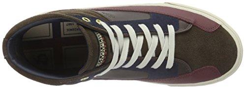 Napapijri Rover, Baskets Basses Homme Marron - Braun (Dark brown N46)