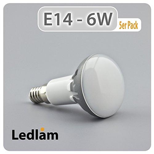 5er-pack-aktion-led-birne-e14-fassung-r50-reflektor-550rp-6-watt-ersetzt-50-watt-500-lumen-3000-kelv