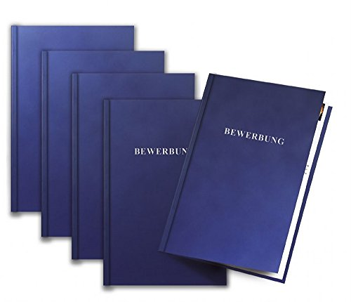 Exacompta - Cartelle di presentazione First, formato A4, in cartoncino, colore: blu