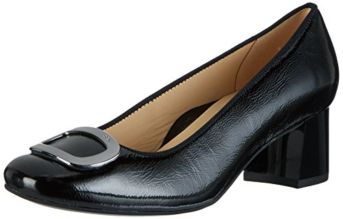 ara Damen Brighton Pumps, Schwarz (Schwarz), 40 EU (6.5 UK)