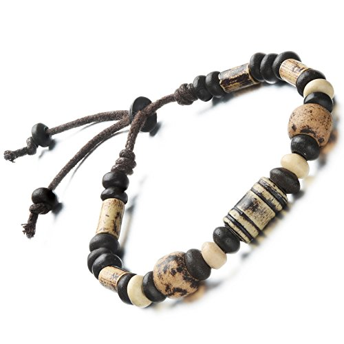 flongo-joyeria-pulsera-ajustable-brazalete-de-ceramica-cuentas-abalorios-tribal-indio-pulsera-hombre