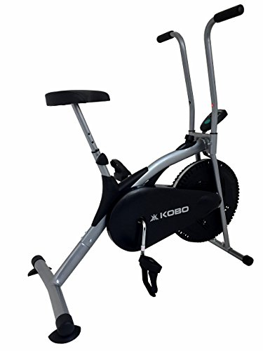 Kobo Air Bike Delux Exercise Cycle Dual Action / Electronic...