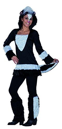 Stinktier Kostüm Set - Stinky Stinktier Kostüm Kapuzentunika Tierkostüm für