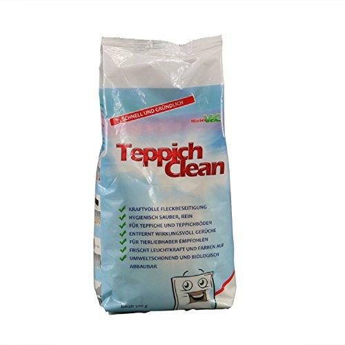 Teppich Reinigungspulver Teppichreiniger 500g für Staubsauger wie Vorwerk Bosch Miele Electrolux ua