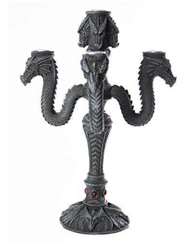 Kerzenhalter mit Drache 5-armig