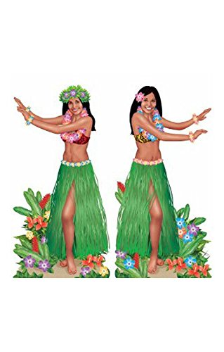 eidung Hula Girl (Authentische Hula Kostüm)