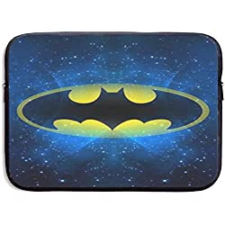 Greatbe Batman 1 Ultrabook Resistente al Agua Maletín Funda con Funda para portátil Bolsas para portátiles 13/15 Pulgadas para MacBook Pro/MacBook Air/Surface Book/Surface Laptop