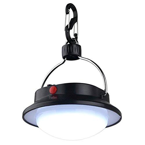 r Camping Lampe mit Lampenschirm Circle Zelt White Light Campsite Hängelampe Portable Wandern Notfall Laterne mit USB Ladekabel (Halloween-musik-aktivitäten)