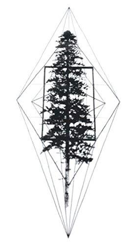 Erwachsene Mann Kostüm Für Baum - Yangll Baum Pflanze Temporäre Tätowierung Aufkleber wasserdichte Erwachsene Männer Frauen Arm Schulter Gefälschte Tattoos 10.5X6Cm8Ps