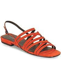 c57de7e608b Amazon.es  Naranja - Sandalias de vestir   Zapatos para mujer ...