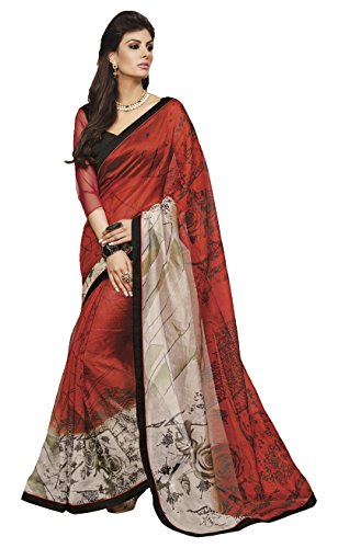 Bhavi Saree Net Saree (Bhs412_Blue)