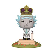 Funko 45437 Animation: King of $#+ w/Sound-Rick and Morty Collectible Toy, Multicolour
