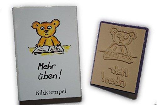 Teddybär-stempel (Lehrerstempel STEMPEL
