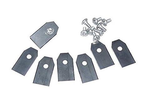 30x Couteau Couteau Lames pour Husqvarna Automower 220AC 230ACX 265ACX 305–308320330x